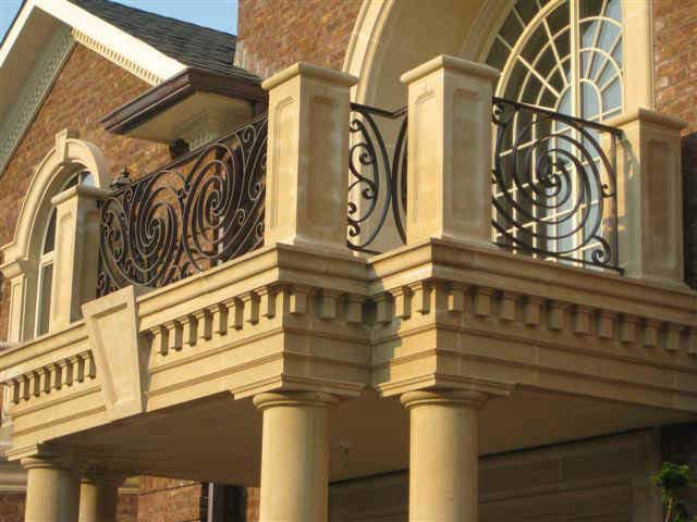 Exterior traditional and contemporary residential for Traditional balconies